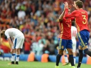 Euro 2016: Gerard Pique's Winning Header Helps Spain Beat Czech Republic