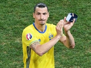 Euro 2016: Sad Farewell For Zlatan Ibrahimovic as Sweden Lose to Belgium 1-0