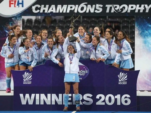 Argentina Women Win Record Seventh Champions Trophy Hockey Title