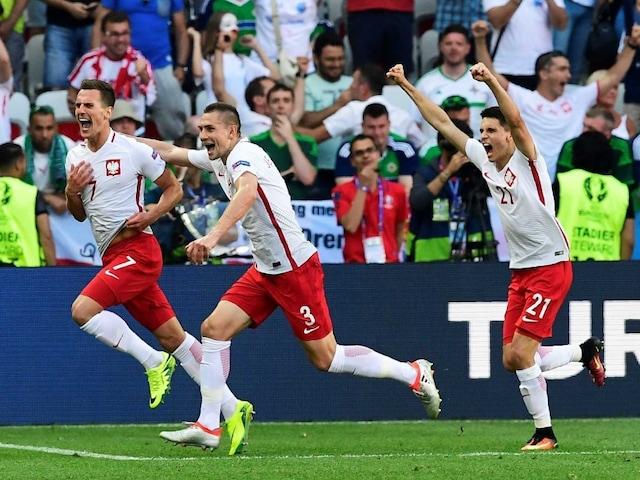 Euro 2016: Polands Arkadiusz Milik Breaks Northern Ireland Hearts