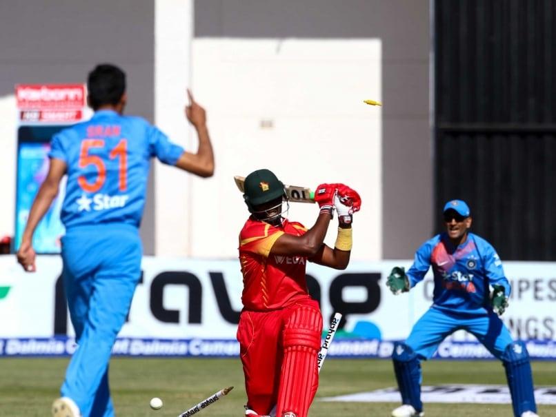Barinder Sran Excels on Debut, India Thrash Zimbabwe To Level Series 1-1