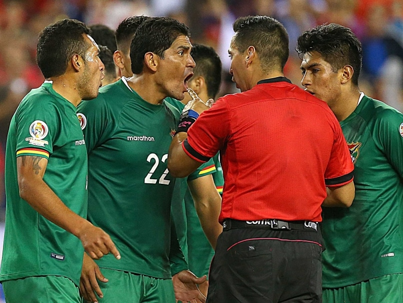 Bolivia Football Angry Copa 1106