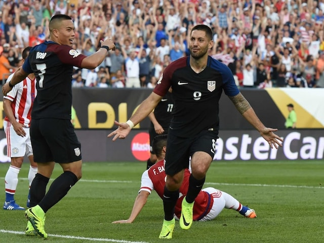 Copa America: Clint Dempsey Helps USA Enter Quarter-Final, Paraguay Eliminated