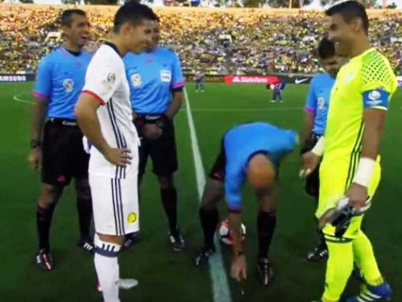 Copa America Match Delayed After Toss Coin Lands on Its Edge