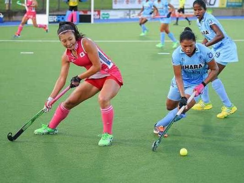 indian women s hockey team play out 1 1 draw against japan