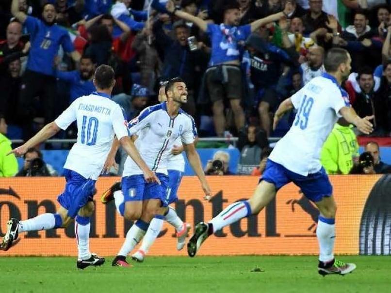 Euro 2016: Graziano Pelle, Emanuele Giaccherini Help Italy Stun Belgium
