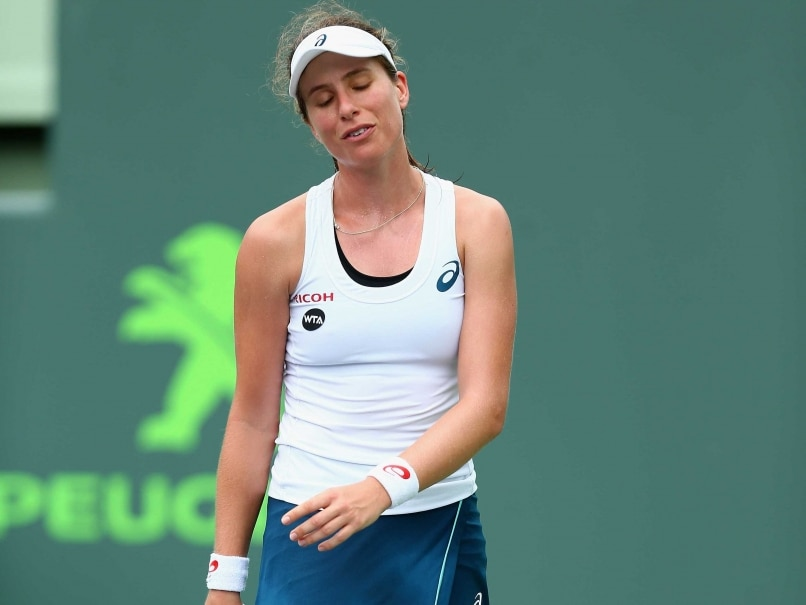 Johanna Konta Loses In Second Round of Nottingham Tournament