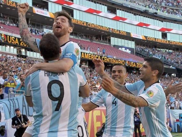 Copa America: Lionel Messi Scores as Argentina Thrash Venezuela to Enter Semis