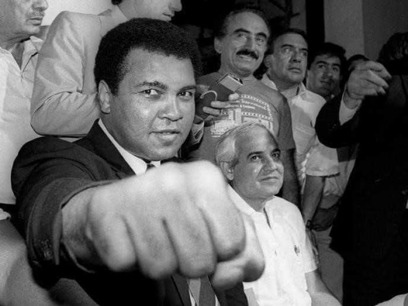 When Muhammad Ali Punched Down George Foreman