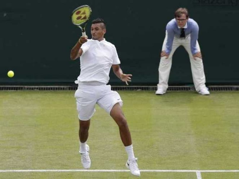 Wimbledon: Nick Kyrgios Enters Second Round, But Gets Warned For Bad Language