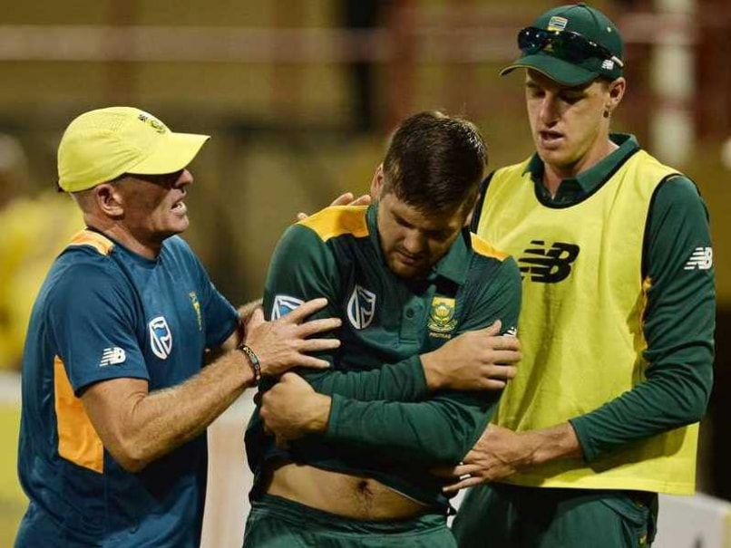 Tri-Series: Dean Elgar Replaces Injured Rilee Rossouw in SA Squad