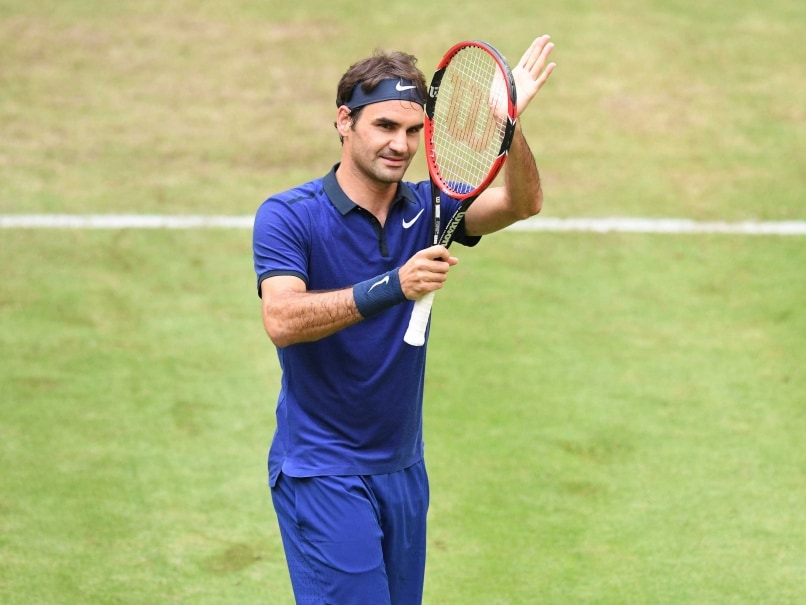 Roger Federer Beats David Goffin To Reach Halle Semi-Finals