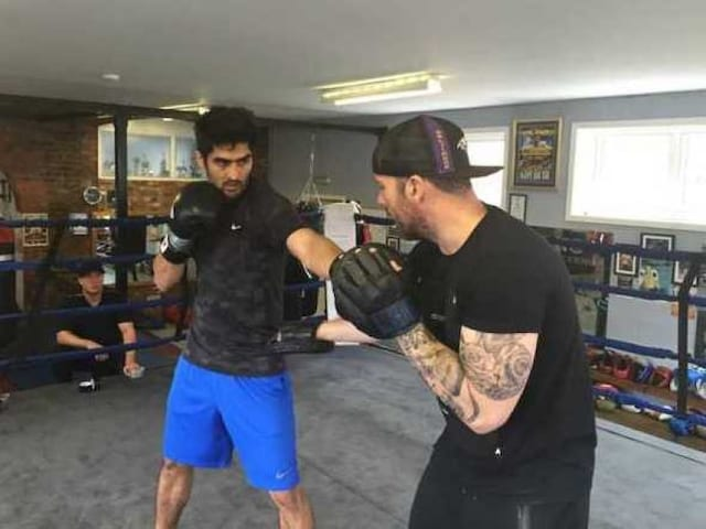 Vijender Singh Eager to Knockout Kerry Hope in WBO Title Bout