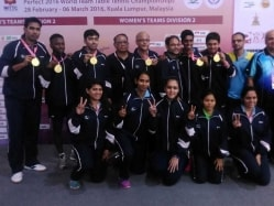 India Men and Women Clinch Historic Gold in World Table Tennis Team Championship