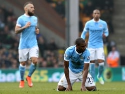 Manchester City Premier League Title Hopes Hit by Norwich City Stalemate