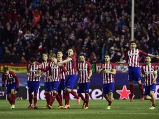 UEFA Champions League: Atletico Madrid Edge Out PSV to Enter QF