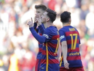 Lionel Messi Leads FC Barcelona to 6-0 Rout of Getafe, Atletico Madrid Stay in the Hunt