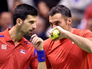 Davis Cup: Novak Djokovic Beaten as Murray Brothers Double up for Victory