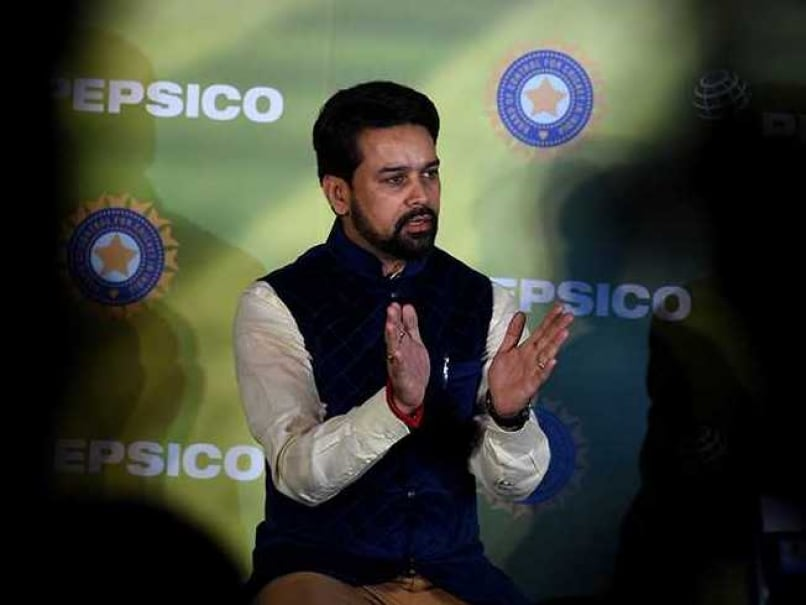 BCCI Chief Anurag Thakur Supports Politicians Running Sports Bodies