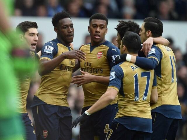 Danny Welbeck, Alex Iwobi Guide Arsenal F.C. to Win vs Everton F.C.