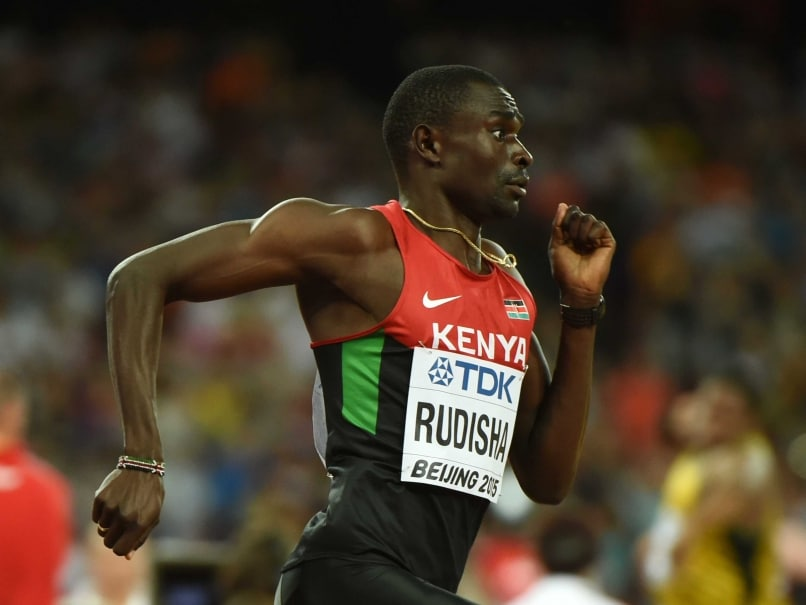 David Rudisha Begins Rio Buildup With Win in Australia
