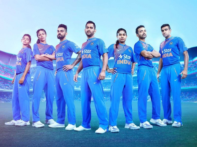 Indian Cricket Team Players: Indian Cricket Team To Wear New Kit For ICC World Twenty20