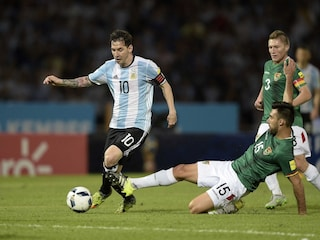 Lionel Messi Scores 50th International Goal as Argentina down Bolivia