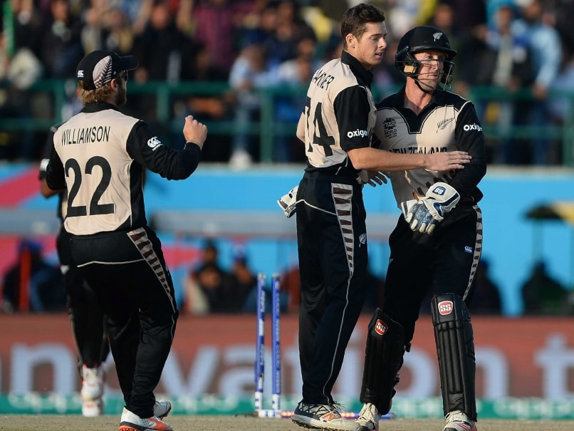 World T20: New Zealand Rule The Spinning Tracks as Hard Times For Sri Lanka Continue