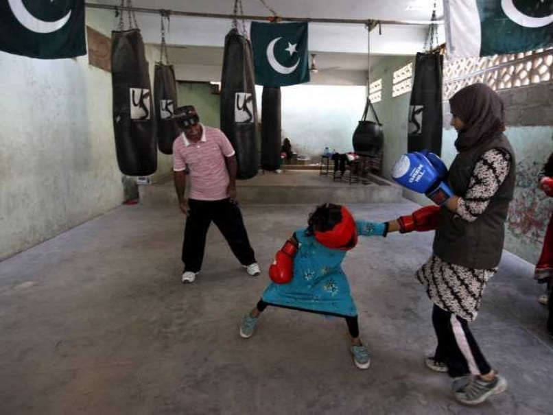 In Pakistan, Young Female Boxers Punch Through Gender Barriers