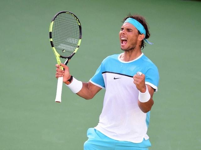 Rafael Nadal Topples Fernando Verdasco to Advance at Indian Wells