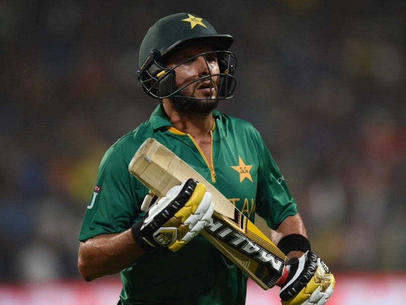 Shahid Afridi, Ahmed Shehzad Dropped From Pakistan Squad For England T20