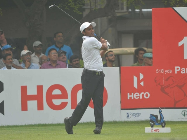 SSP Chawrasia Leads by Two Shots at Indian Open