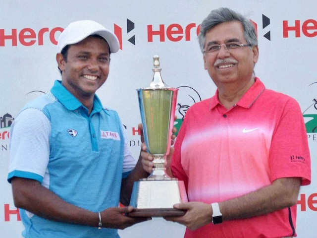 SSP Chawrasia Wins Indian Open Title, Anirban Lahiri Finishes Tied Second