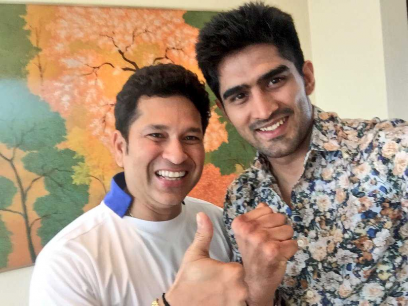 Boxer Vijender Singh Invites Haryana Chief Minister For India Debut Bout