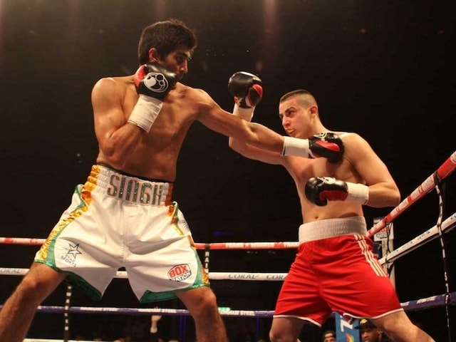 Unbeaten Vijender Singh Heads to London For Next Bout