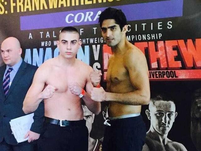 Vijender Singh Looks to Maintain His Winning Run Against Alexander Horvath