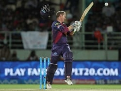 IPL: Hit by 'Truck-Like' Bouncer, George Bailey Escapes Unhurt