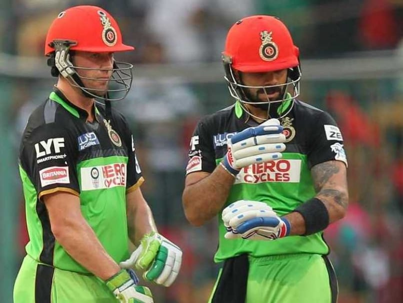 IPL: Kohli, de Villiers Make History, South African Dedicates Ton to ...