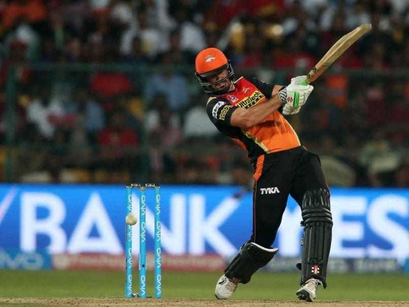 Ben Cutting Cameo Propels Sunrisers Hyderabad Past 200 In 2016 IPL Final