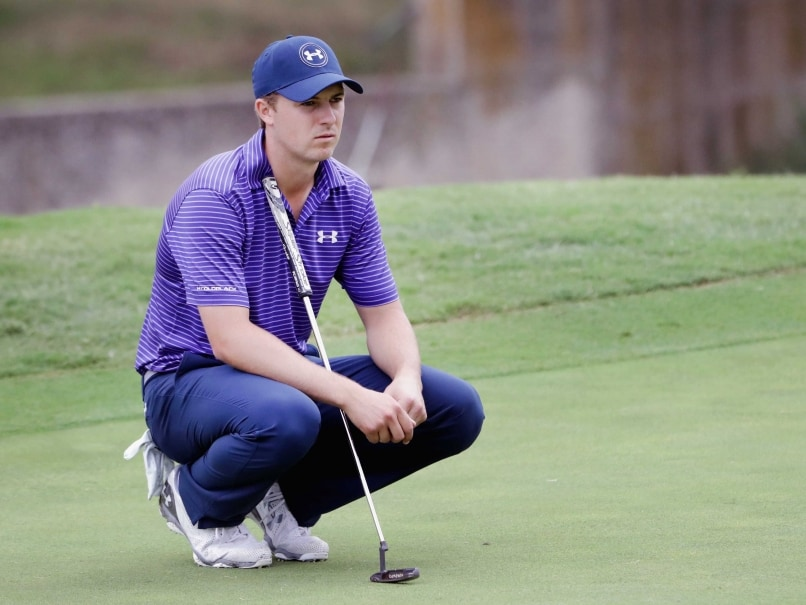 jordan spieth puts on decent show in first tournament
