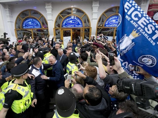 Leicester City Celebrate Premier League Title Triumph With Lobster Extravaganza