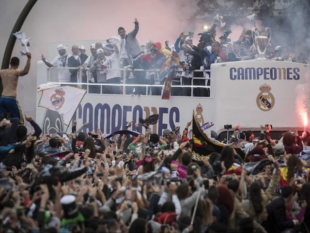 Real Madrid Get Heroes Welcome After Champions League Triumph