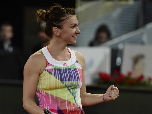 Romanian Simona Halep Wins Madrid Open