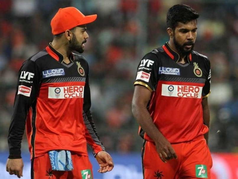 Virat Kohli Varun Aaron RCB IPL 2016