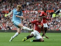 Manchester United vs Manchester City Highlights: De Bruyne, Iheanacho Help City Beat United 2-1