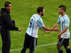 Gonzalo Higuain, Sergio Aguero Called up For Argentina's World Cup Qualifiers