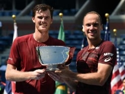 Jamie Murray, Bruno Soares Win US Open Men