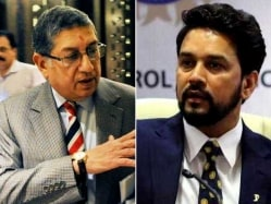 N. Srinivasan Not To Represent Indian Cricket In ICC, Anurag Thakur To Continue
