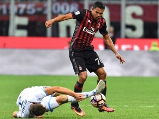 Serie A: Carlos Bacca And M'Baye Niang Send AC Milan up to Third