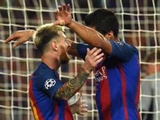 Champions League: Lionel Messi Nets Hat-Trick as Barcelona Hit Celtic For Seven